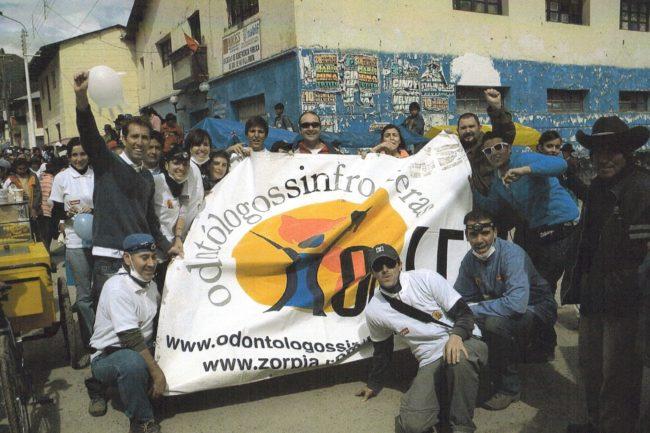 Proyecto solidario Odontólogos sin fronteras